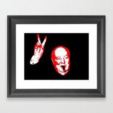 Churchill Sixteen Framed Art Print