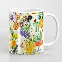 Vintage & Shabby Chic - Beautiful Botanical Spring Garden Coffee Mug