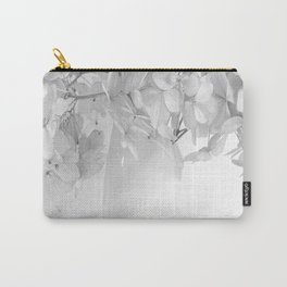 Hydrangea Still Life in Black and White #decor #society6 #buyart Carry-All Pouch