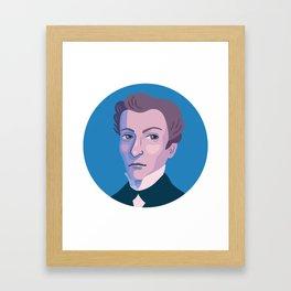 Queer Portrait - James Barry Framed Art Print