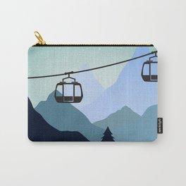 The last ski lift - Sundance Ski Mountain Carry-All Pouch