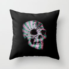 skull. Throw Pillow