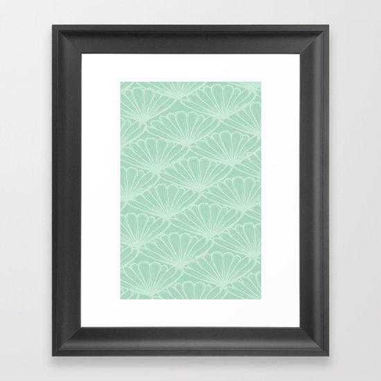 Lady in Mint Framed Art Print