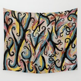 Chaotic Wall Tapestry
