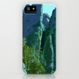 Enchanted Needles Highway Retro Travel iPhone Case