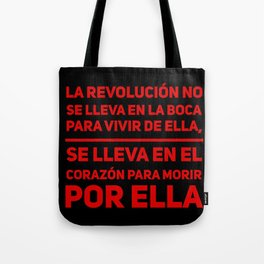 La Revolución Tote Bag