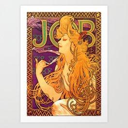 Vintage Woman Art Print