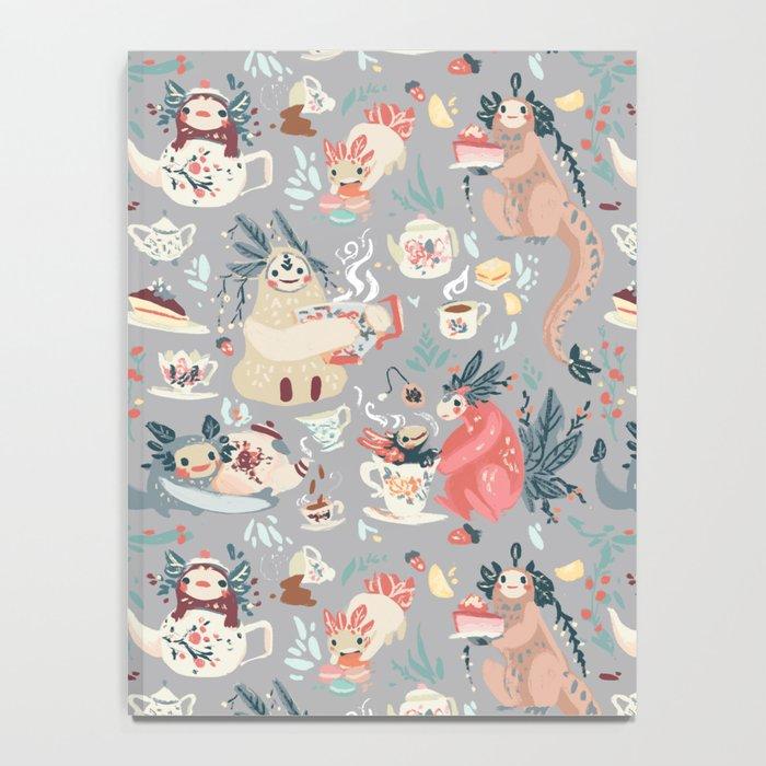 Tea Spirit pattern Notebook