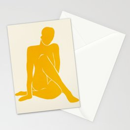 Nude III: Tulip Yellow Edition Stationery Cards