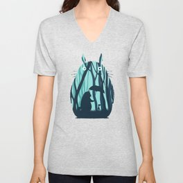 My Neighbor Totoro's Unisex V-Neck