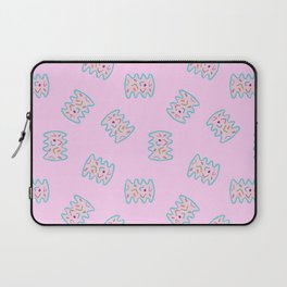 Brainy Bacteria (pink) Laptop Sleeve