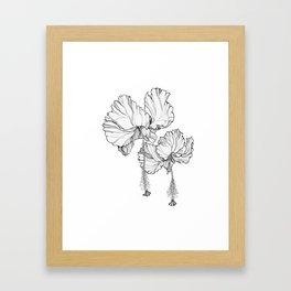 Hibiscus in Bloom Framed Art Print