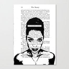 One Homicidal Moment Canvas Print