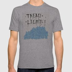 tread lightly - walter white Tri-Grey Mens Fitted Tee SMALL