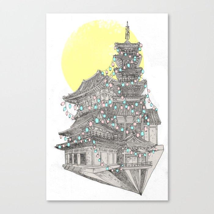 City of Lanterns Canvas Print
