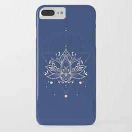 Lotus Dark iPhone Case