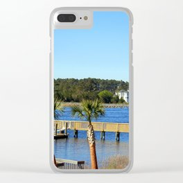 Harbor Community Living Clear iPhone Case