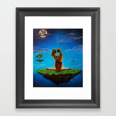 We Are One (Come Together) Framed Art Print