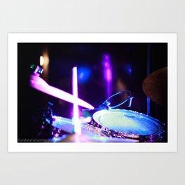 Drums of Heaven Art Print