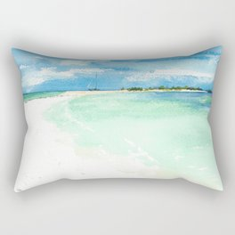 Los Roques Venezuela Rectangular Pillow
