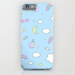 candy kawaii rainbow iPhone Case