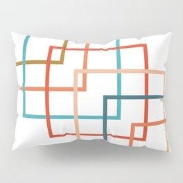 Colored Squares Pillow Sham