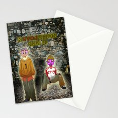 rEVOLution now Stationery Cards