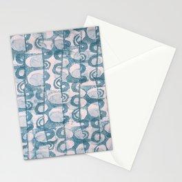 sideways rhythm Stationery Cards