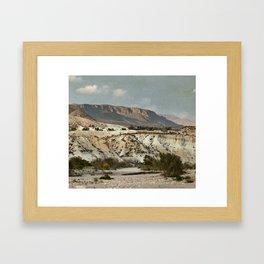 Almeria Framed Art Print