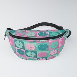 Pickleball sweet pastel retro pattern Fanny Pack
