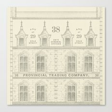 Provincial Trading Co's General Office Canvas Print