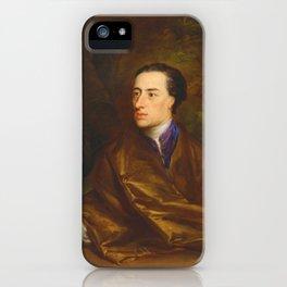 Alexander Pope by Jonathan Richardson (1738) iPhone Case