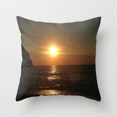 Italian Sunset 2 Throw Pillow