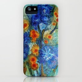 Over Bloom iPhone Case