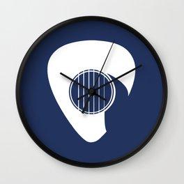 Guitar Pick Wall Clock