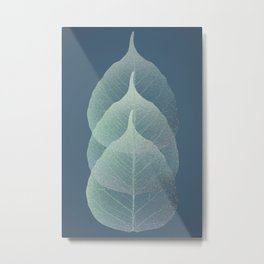 The Silver Breath of Winter Metal Print