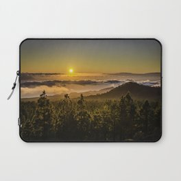 Sunset at 1800m Laptop Sleeve