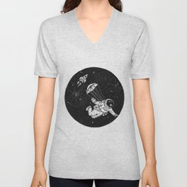 When jumping from an airplane just doesn't cut it anymore. Unisex V-Neck