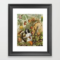 Betsy the Snail Wrangler Framed Art Print