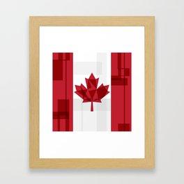 O Canada Framed Art Print