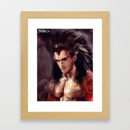 Lvl 4 V Framed Art Print