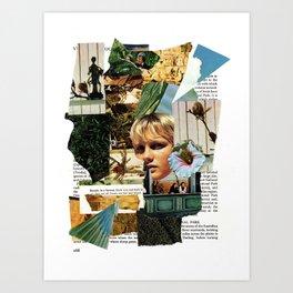 Paper Mind Art Print