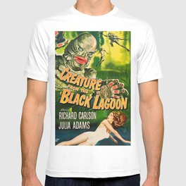 Creature from the Black Lagoon, vintage horror movie poster T-shirt