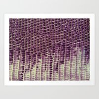 honeycomb Art Prints featuring Honeycomb by BellagioVista