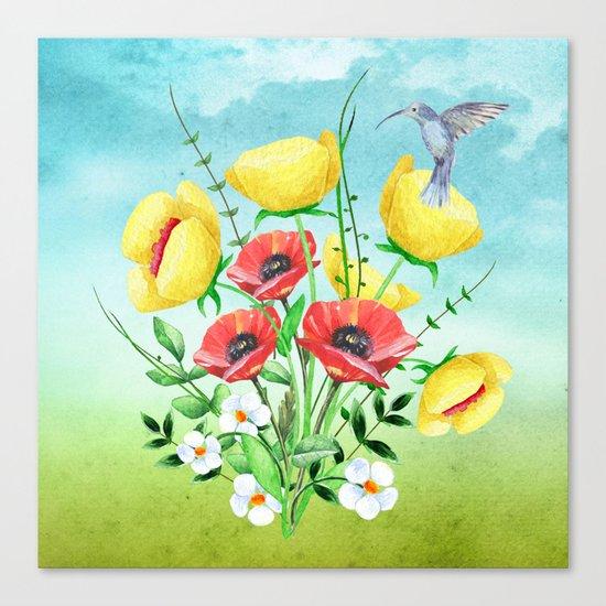 Flowers bouquet #20 Canvas Print