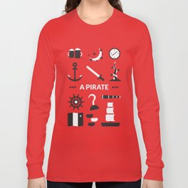 OUAT - A Pirate Long Sleeve T-shirt