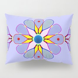 Racquetball Design version 2 Pillow Sham