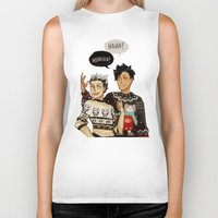 haikyuu Biker Tanks featuring Hohoho? by rhymewithrachel