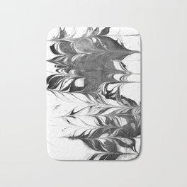 Marble Suminagashi 3 watercolor pattern art pisces water wave ocean minimal design Bath Mat