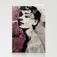 audrey Stationery Cards featuring Audrey by f_e_l_i_x_x